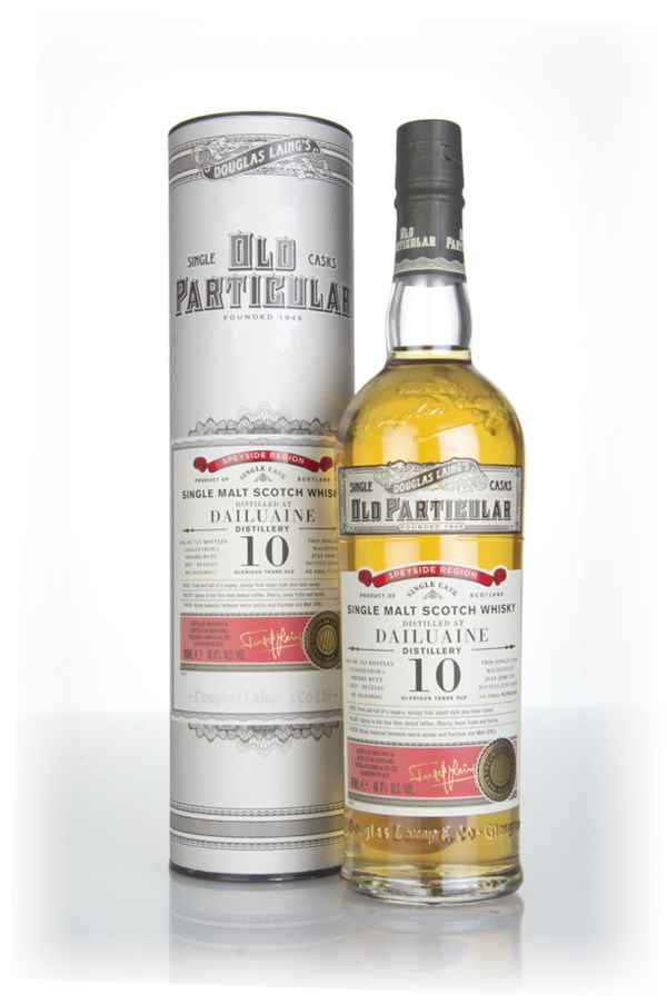 Dailuaine 10 Year Old 2008 (cask 12541) - Old Particular (Douglas Laing)