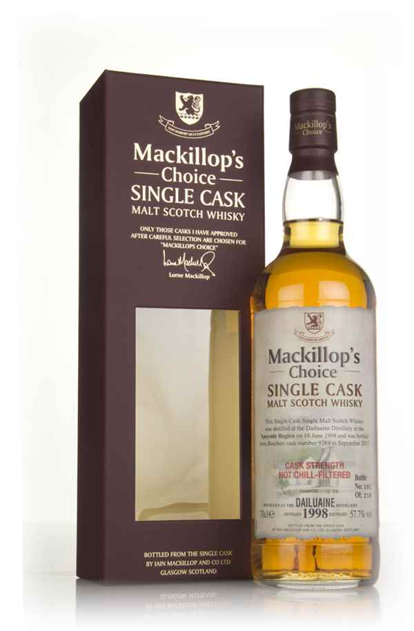 Dailuaine 19 Year Old 1998 (cask 9288) - Mackillop's Choice