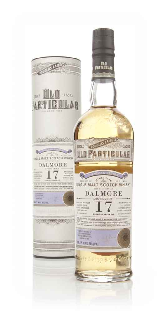 Dalmore 17 Year Old 1996 (cask 10206) - Old Particular (Douglas Laing)