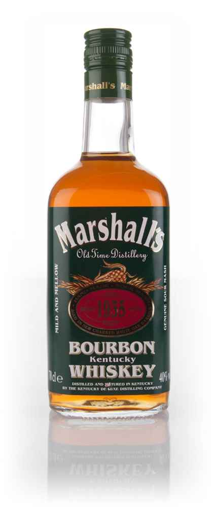 Marshall's Bourbon Whiskey