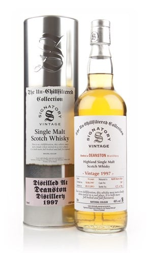 Deanston 16 Year Old 1997 (cask 1347) - Un-Chillfiltered (Signatory)