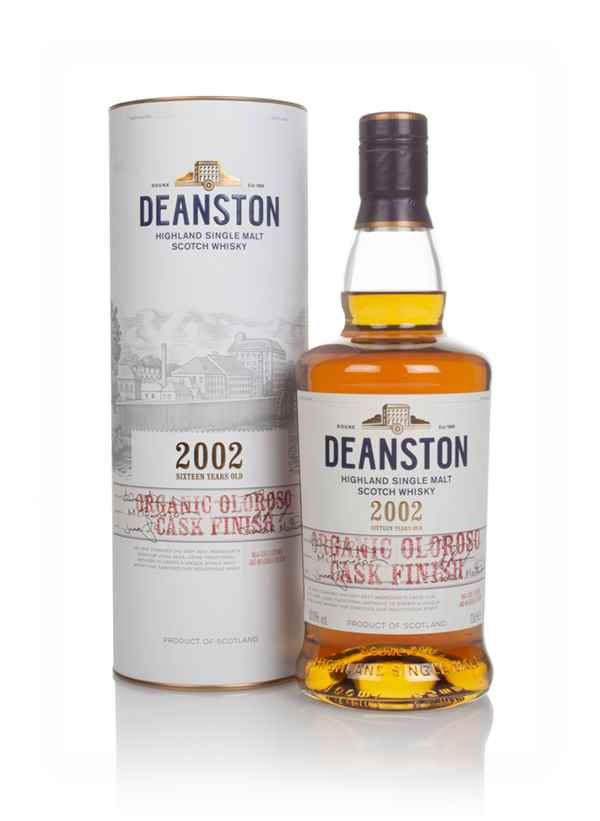 Deanston 16 Year Old 2002 Organic Oloroso Cask Finish