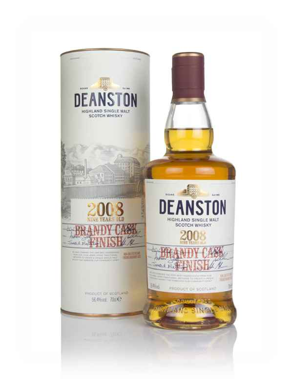 Deanston 9 Year Old 2008 Brandy Cask Finish