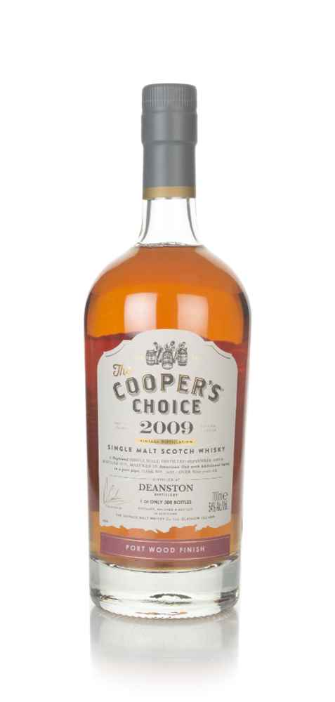 Deanston 9 Year Old 2009 (cask 1639) -  The Cooper's Choice (The Vintage Malt Whisky Co.)