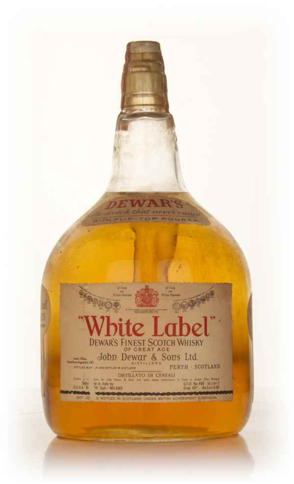 Dewar's White Label 2l - 1960s