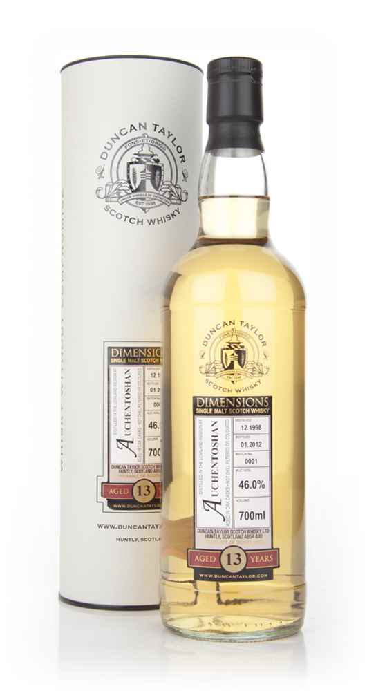 Auchentoshan 13 Year Old 1998 - Dimensions (Duncan Taylor)