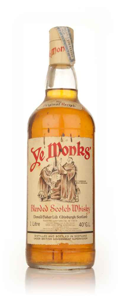 Ye Monks' Blended Scotch Whisky - 1970s