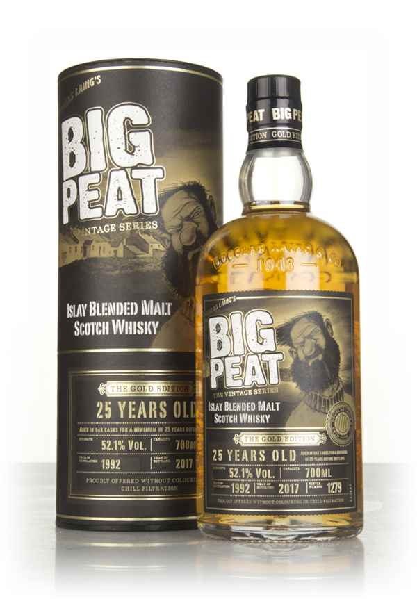 Big Peat 25 Year Old - The Gold Edition