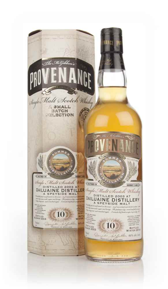 Dailuaine 10 Year Old 2003 (cask 10181) - Provenance (Douglas Laing)
