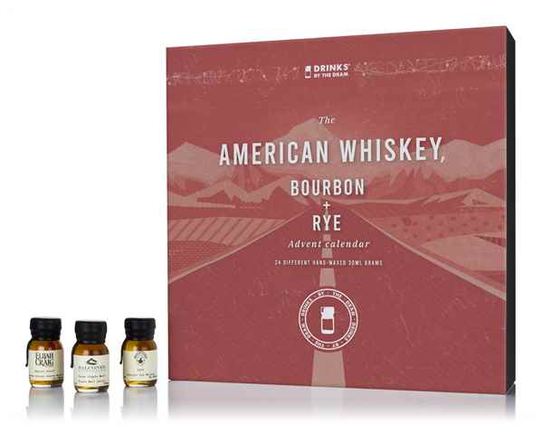 American Whiskey, Bourbon & Rye Advent Calendar (2018 Edition)