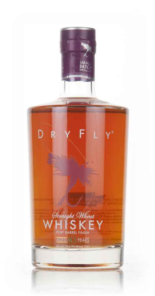 Dry Fly 3 Year Old Wheat Whiskey - Fortified Wine Barrel Finish