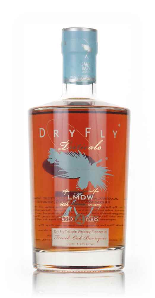 Dry Fly 4 Year Old Triticale French Oak Finish (La Maison du Whisky 60th Anniversary)