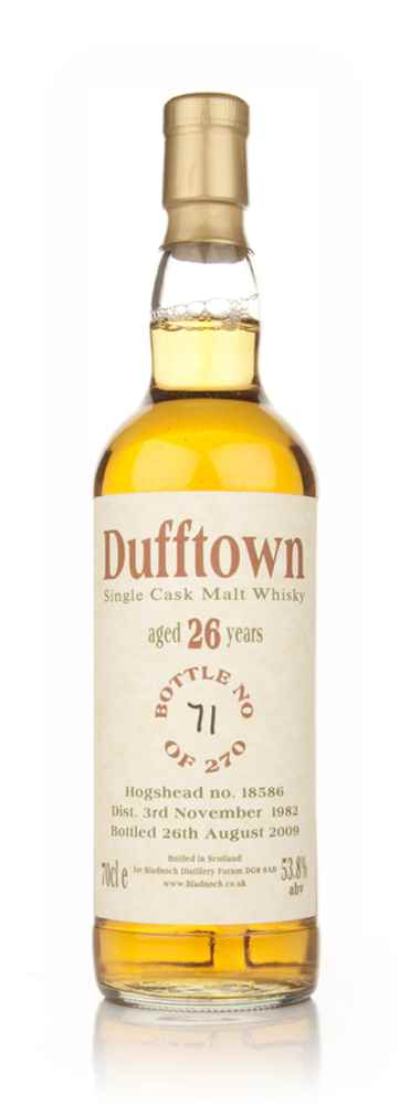 Dufftown 26 Year Old 1982 (Bladnoch Bottling)