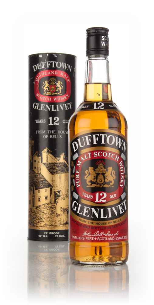 Dufftown 12 Year Old - 1980s