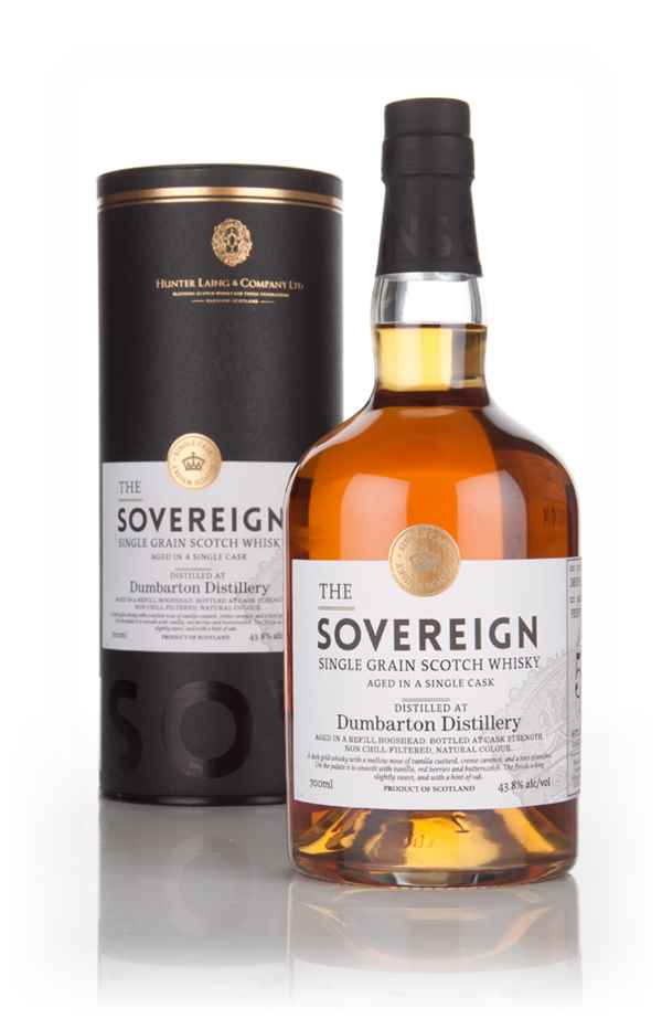 Dumbarton 50 Year Old 1964 (cask 11227) - The Sovereign (Hunter Laing)