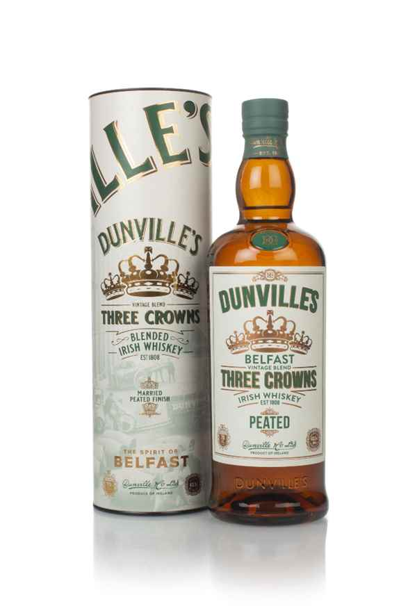 Dunville's Peated Three Crowns