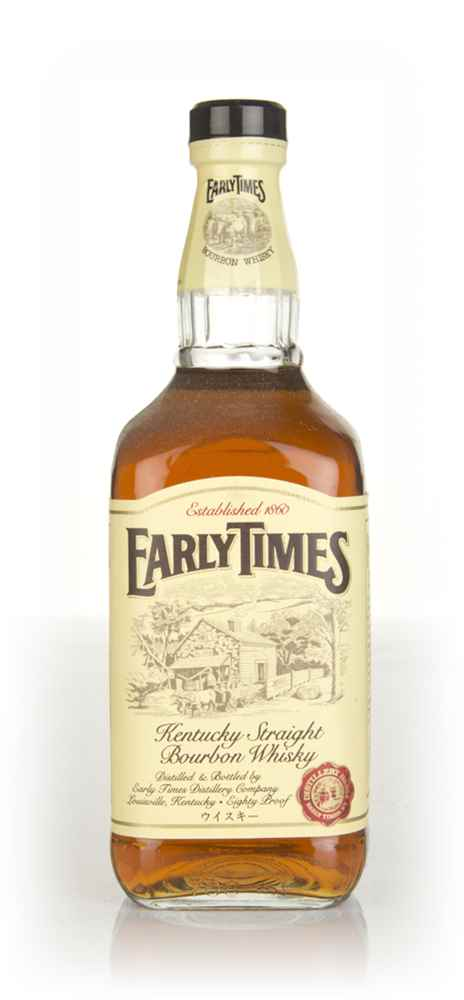 Early Times Bourbon - 1980s