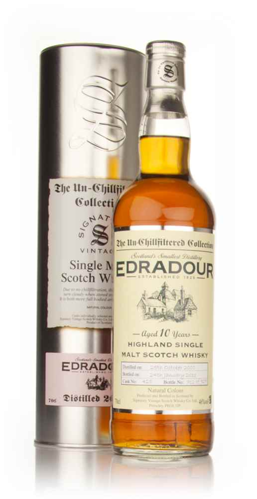 Edradour 10 Year Old 2000 - Un-Chillfiltered (Signatory)