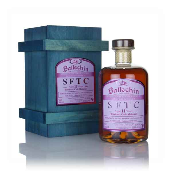 Ballechin 11 Year Old 2007 (cask 215) - Straight From The Cask