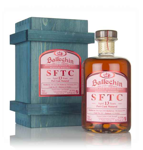 Ballechin 13 Year Old 2004 (cask 205) - Straight From The Cask