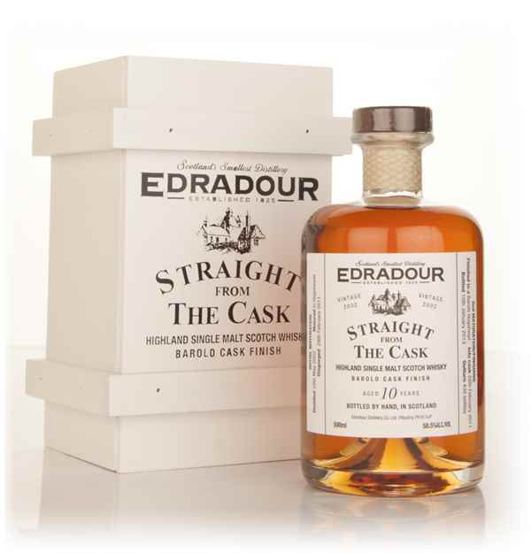 Edradour 10 Year Old 2002 Barolo Cask Finish - Straight From The Cask