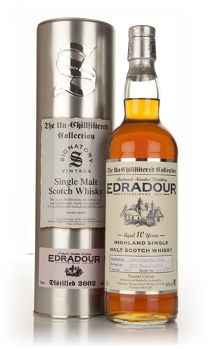 Edradour 10 Year Old 2002 (cask 465) - Un-Chillfiltered (Signatory)