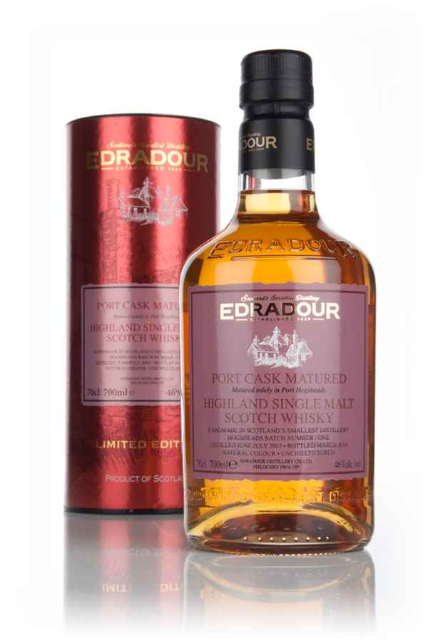 Edradour 10 Year Old 2003 Port Cask Matured - Batch 1