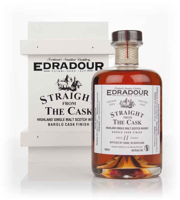 Edradour 11 Year Old 2002 Barolo - Straight From The Cask