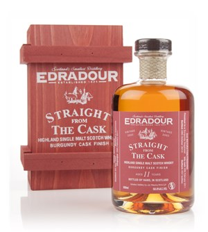 Edradour 11 Year Old 2002 Burgundy Cask Finish - Straight From the Cask 58.8%