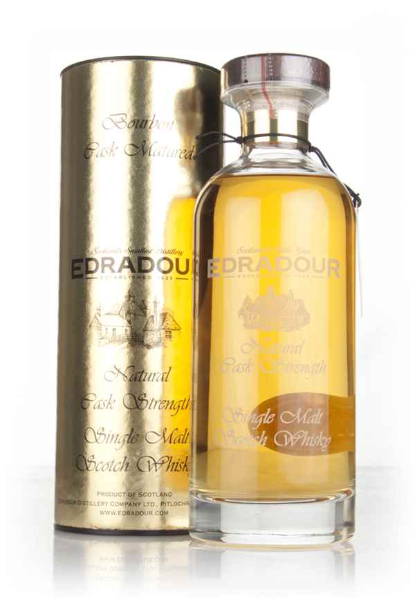 Edradour 11 Year Old 2006 (3rd Release) Bourbon Cask Matured Natural Cask Strength - Ibisco Decanter