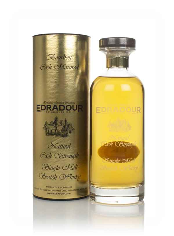 Edradour 11 Year Old 2008 Bourbon Cask Matured Natural Cask Strength - Ibisco Decanter