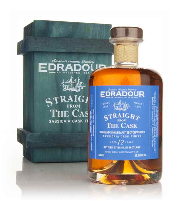 Edradour 12 Year Old 1997 Sassicaia Cask Finish - Straight from the Cask