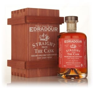 Edradour 12 Year Old 2001 Port Wood Finish - Straight from the Cask 56%