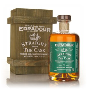 Edradour 13 Year Old 1997 Moscatel Cask Finish - Straight from the Cask
