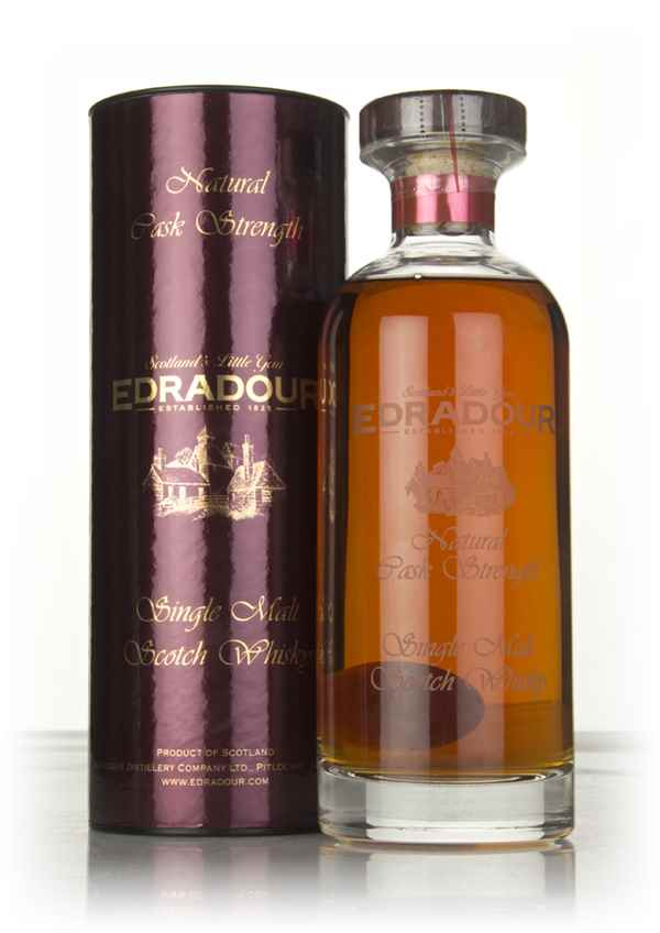 Edradour 14 Year Old 2002 (cask 1409) Natural Cask Strength - Ibisco Decanter