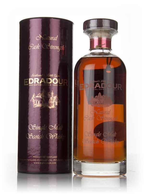 Edradour 14 Year Old 2002 (cask 1416) Natural Cask Strength - Ibisco Decanter