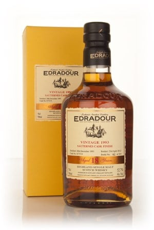 Edradour 18 Year Old 1993 Sauternes Cask Finish