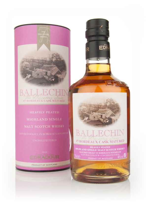 Edradour Ballechin #7 Bordeaux Cask Matured (The Discovery Series)