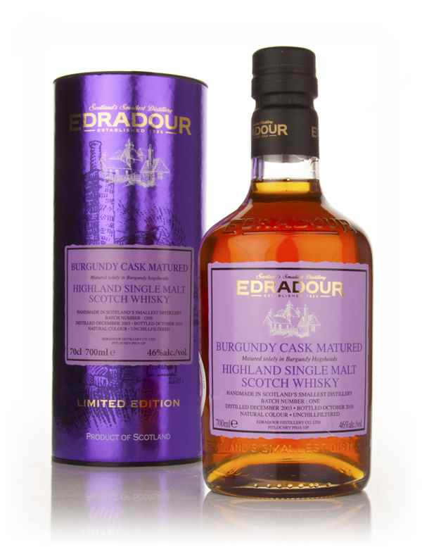 Edradour 2003 Burgundy Cask Matured - Batch 1