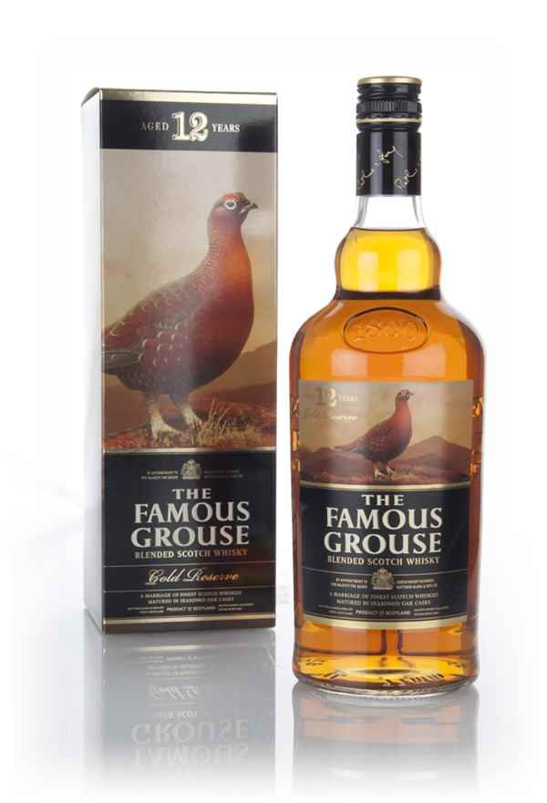 Famous Grouse Gold Reserve 12 Year Old