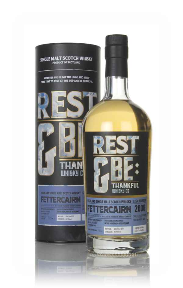 Fettercairn 10 Year Old 2008 (cask 4653) - Rest & Be Thankful