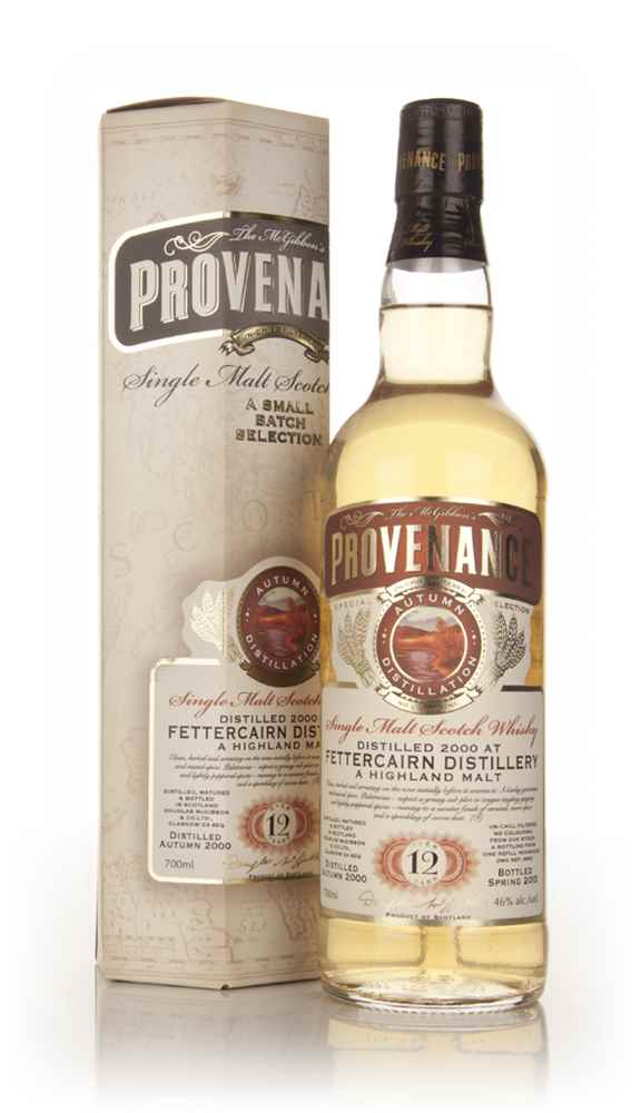 Fettercairn 12 Year Old 2000 - Provenance (Douglas Laing)