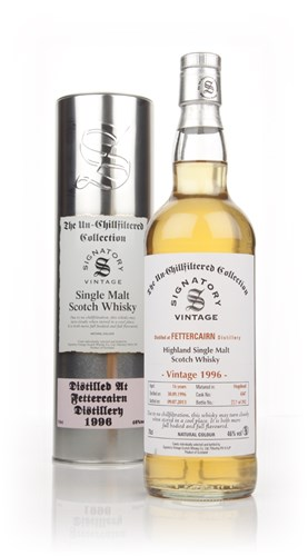 Fettercairn 16 Year Old 1996 (cask 4347) - Un-Chillfiltered (Signatory)
