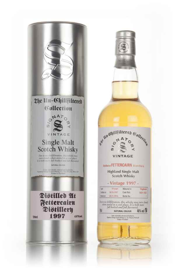 Fettercairn 19 Year Old 1997 (cask 5624 & 5625) - Un-Chillfiltered Collection (Signatory)