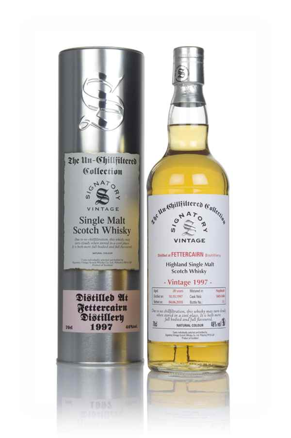 Fettercairn 20 Year Old 1997 (casks 5602 & 5606) - Un-Chillfiltered Collection (Signatory)