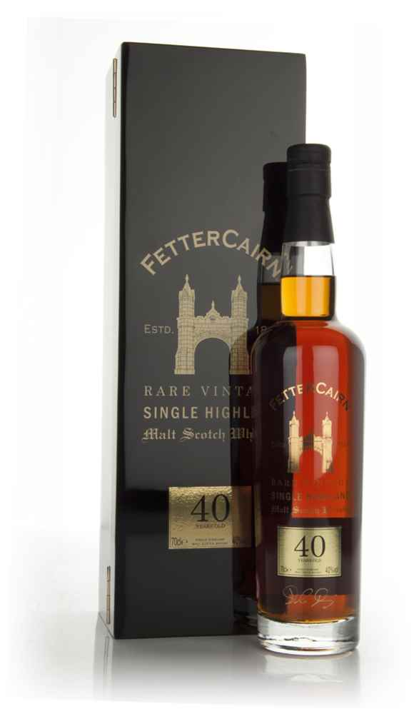 Fettercairn 40 Year Old (Old Bottling)