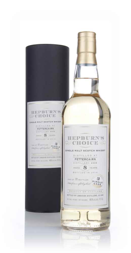 Fettercairn 8 Year Old 2005 - Hepburn's Choice (Langside)