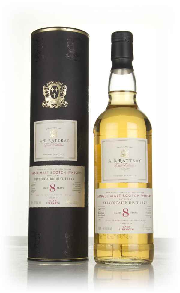 Fettercairn 8 Year Old 2009 (cask 1091)- Cask Collection (A.D. Rattray)