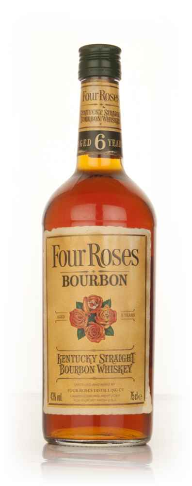 Four Roses 6 Year Old Bourbon - 1980s