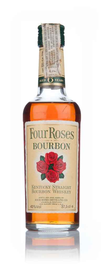 Four Roses 6 Year Old Bourbon 37.5cl - 1970s